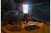 UCO Arka - Lanterne - rouge/noir